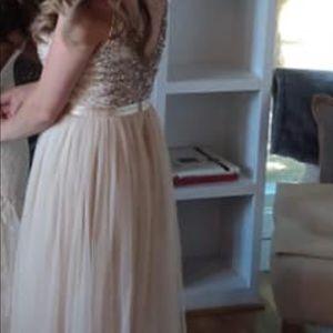 BHLDN Dresses - BHLDN Avery Dress - Oyster